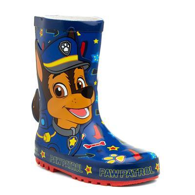 Kory Kids Blue Wellington Boot