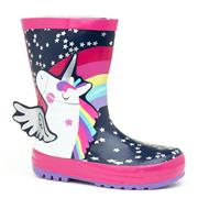 Cinetaa Kids Multi-Coloured Unicorn Welly (Click For Details)
