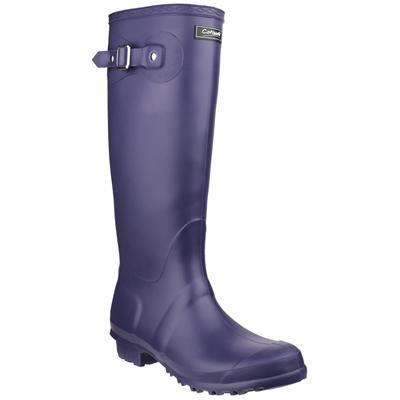 Womens Sandringham Welly in Purple
