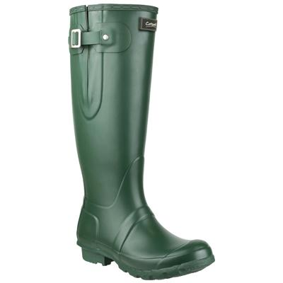 Womens Windsor Welly in Green
