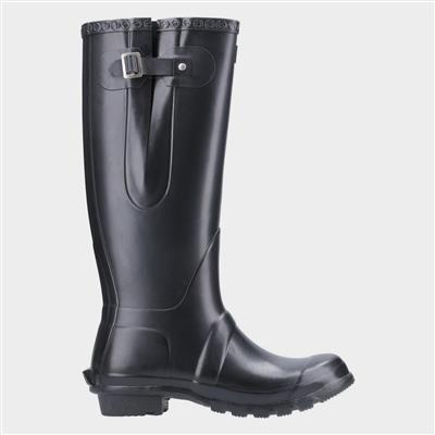 Unisex Windsor Welly in Black