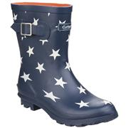 Cotswold Womens Badminton Wellington Boot in Blue (Click For Details)
