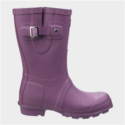 Womens Windsor Short Wellington in Purple