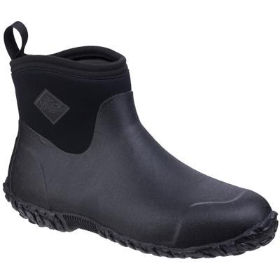 Mens Muckster II Black Ankle Boot