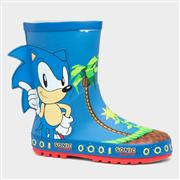 Sonic Melba Kids Blue Wellies (Click For Details)