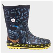 Batman Kids Black Wellington (Click For Details)