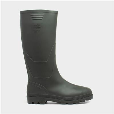 Green Unisex Recycled Wellington Boot