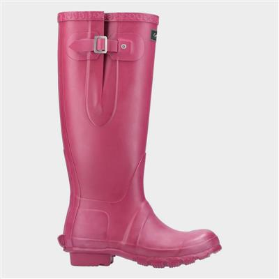 Womens Windsor Welly in Pink