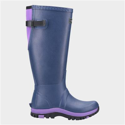 Women's Realm Welly in Blue