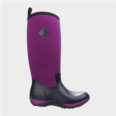 Artic Adventure Womens Purple Boot