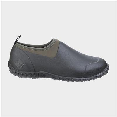 Muckster II Low Mens Black Moss Shoe
