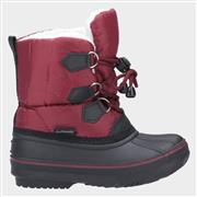 Cotswold Junior Explorer Boot in Red (Click For Details)