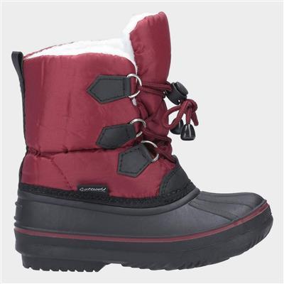 Junior Explorer Boot in Red