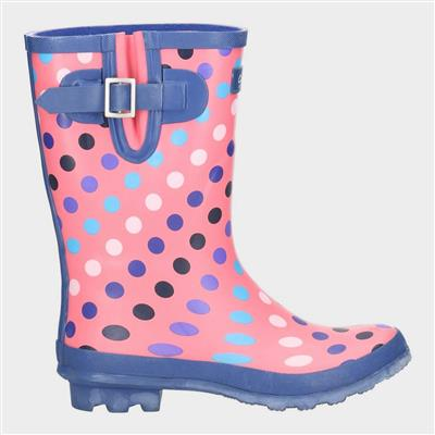 Womens Paxford in Pink Wellington