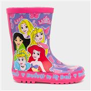 Disney Princess Girls Purple & Pink Welly (Click For Details)