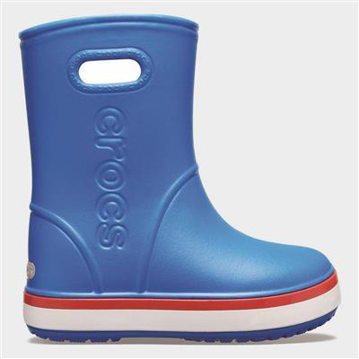 Crocband Kids Rainboot in Blue