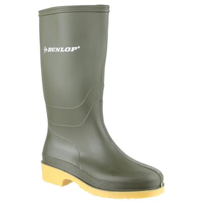 Dulls Junior Kids Green Wellington Boot