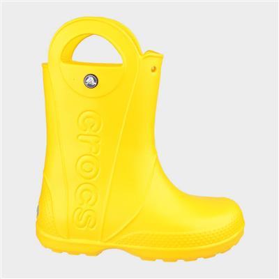 Handle It Kids Rain Boot in Yellow