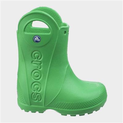 Handle It Kids Rain Boot in Green