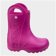 Crocs Handle It Kids Rain Boot in Pink (Click For Details)