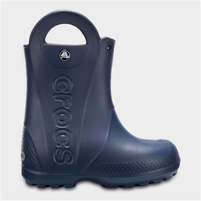Handle It Kids Rain Boot in Navy