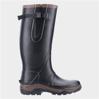 Compass Adults Tall Welly in Black