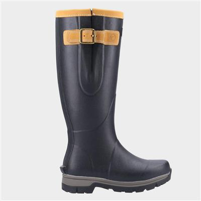 Stratus Adults Tall Welly in Black