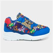 Paw Patrol Kids Blue Trainers with Touch Fasten (Click For Details)