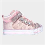 Skechers Girls Shuffle Lite Adore-A-Ball in Pink (Click For Details)