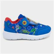 Toy Story Kids Easy Fasten Trainer in Blue (Click For Details)