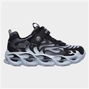Skechers Boys Thermo-Flash Sports Trainer in Black (Click For Details)