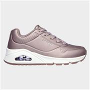 Skechers Girls Uno Rose Bold in Metallic (Click For Details)
