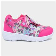 Buckle My Shoe Girls Pink Unicorn Trainer (Click For Details)