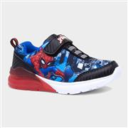 Spiderman Kids Easy Fasten Light Up Trainers (Click For Details)