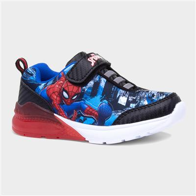 Kids Easy Fasten Light Up Trainers