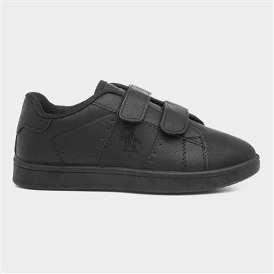 Marble Kids Black Shoe