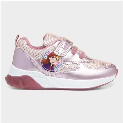 Girls Light Up Trainer in Pink