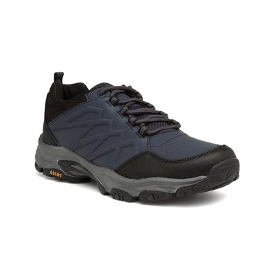 Shadow Mens Navy Lace Up Hiking Trainer