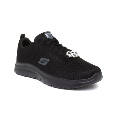 Flex Advantage Mens Black Lace Up Trainer