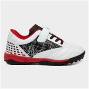 Ascot Kids White & Black Astro Trainers (Click For Details)