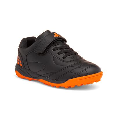 Barcelona Astro Kids Black & Orange Trainer