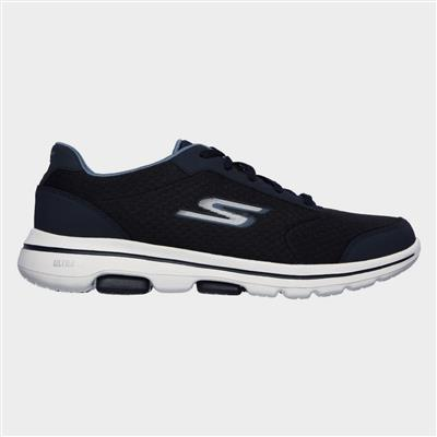 Gowalk 5 Qualify Lace Up Sports in Blue