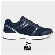 Osaga Velocity Mens Navy Lace Up Trainer (Click For Details)