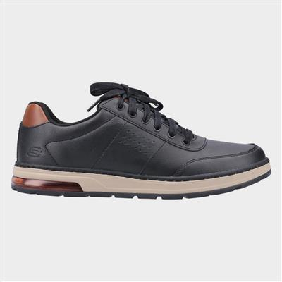 Mens Evenston Fanton Casual Shoe in Black