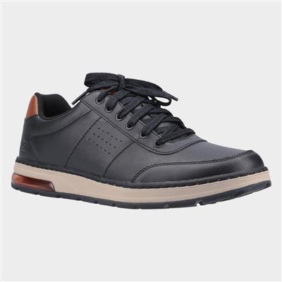 skechers mens evenston fanton casual shoe in black830066