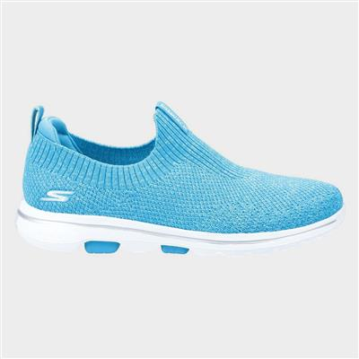 Gowalk 5 Trendy Slip On Sports in Blue