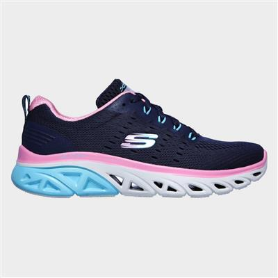 Womens Glide-Step Sport Fun Stride in Blu