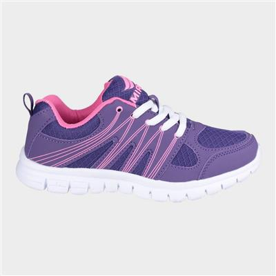 Womens Milos Trainer in Purple