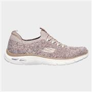 Skechers Womens Empire D'Lux Sharp Pink Trainer (Click For Details)