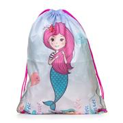 Mermaid Print Multi Coloured Plimsoll Bag (Click For Details)